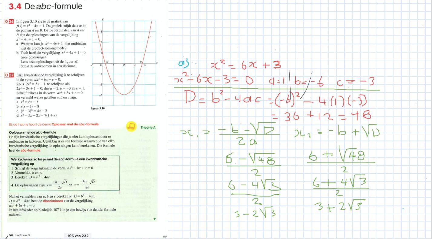 Voorbeeld online whiteboard NHI Studiebegeleiding